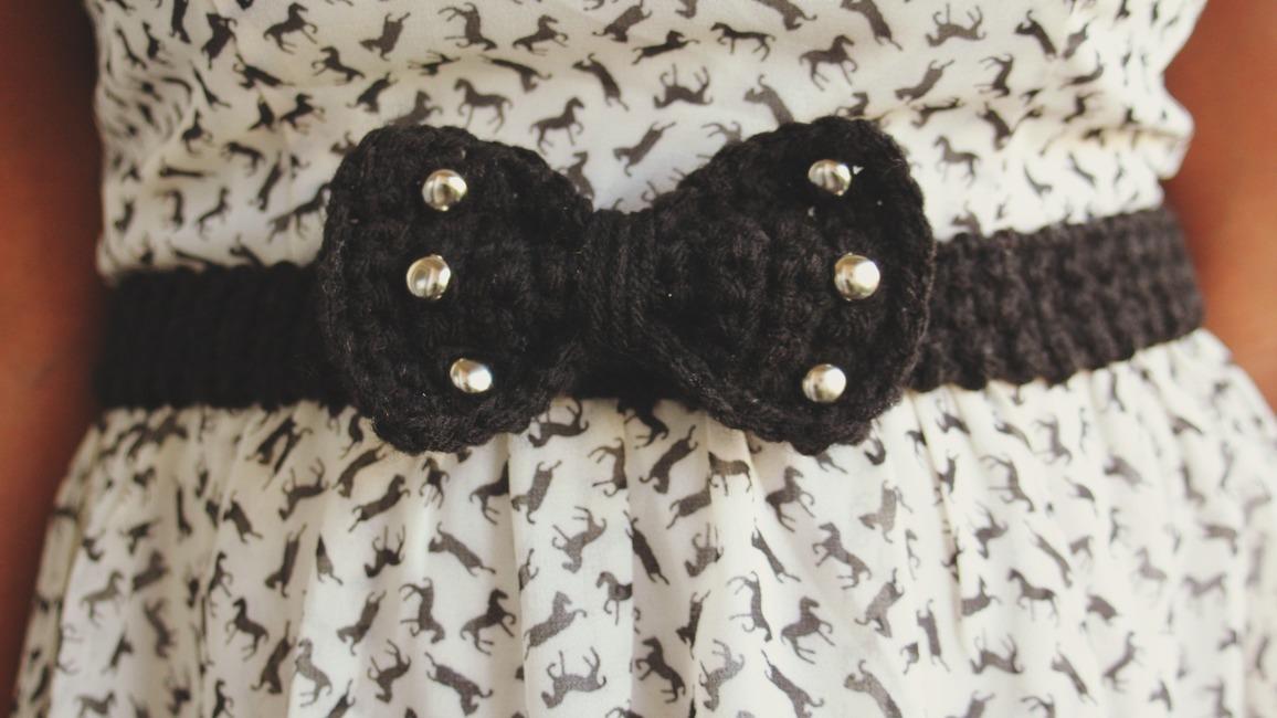 The Dream Bow Belt Pattern