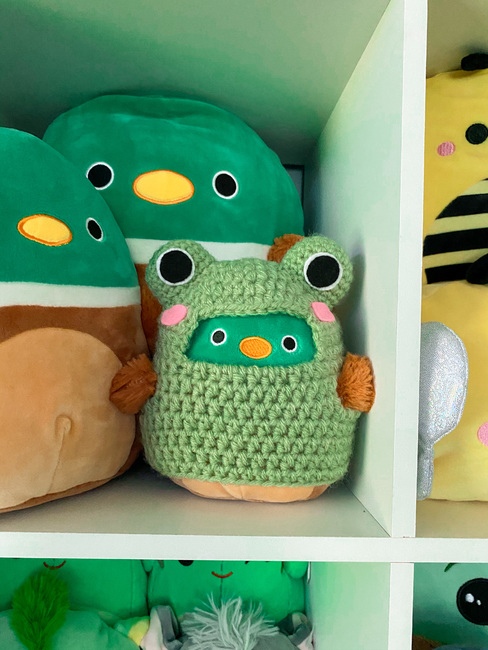Squishmallow frog costume pattern