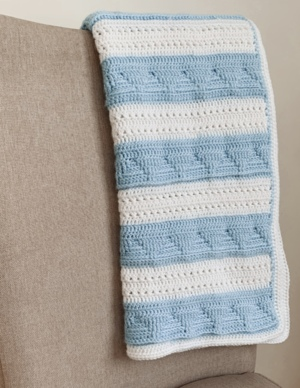 The Sail Away Baby Blanket