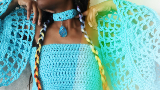 The Charmed One Crochet Choker.