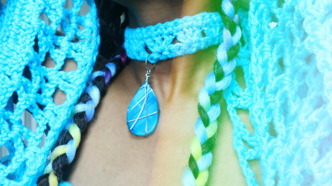 The Charmed One Crochet Choker.