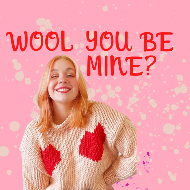 Wool You Be Mine? Sweater