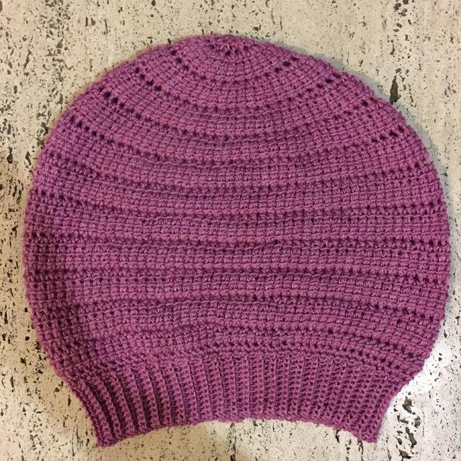 Never Ending Spiral Hat