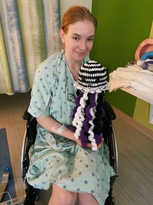 EDS awareness zebra jellyfish