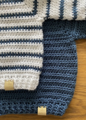 Ahoy There!  Baby Sweater
