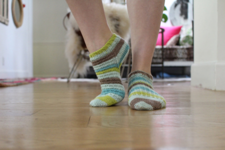 Fabulous Fraternal Stripe Socks