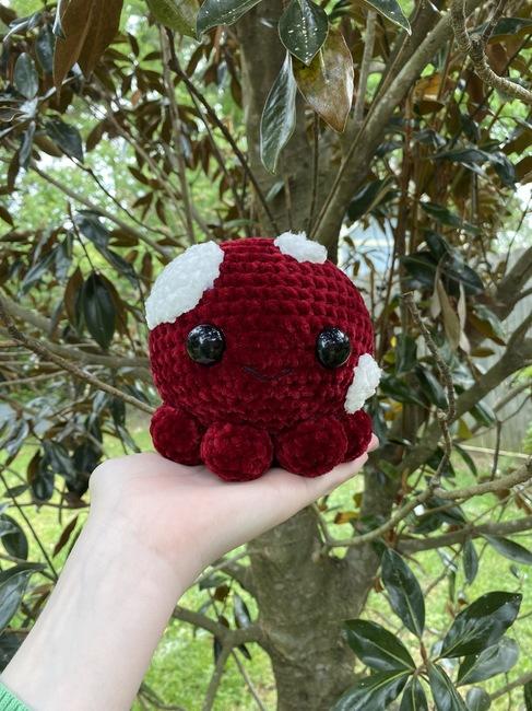 Mushroom octopus!