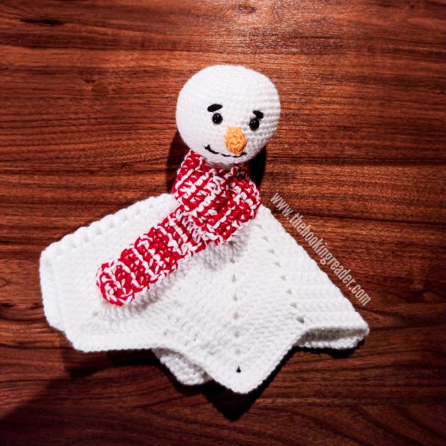 Snowman Lovey