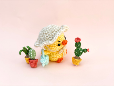 Gertrude the Grumpy Chick