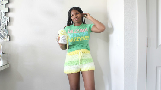 The Comfy Cozy Crochet Shorts