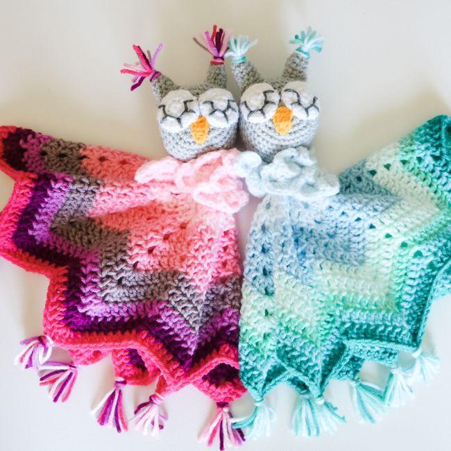 Baby Owl Lovey