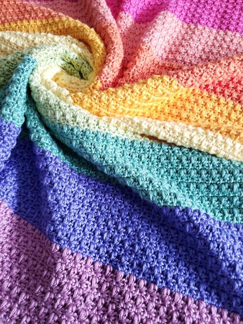 Rainbow Isles Baby Blanket