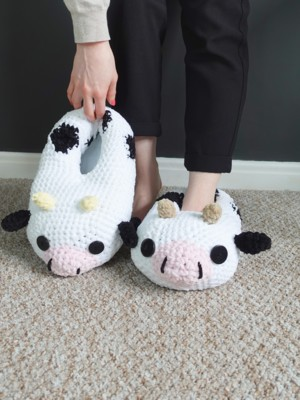 Chunky Cow Slippers