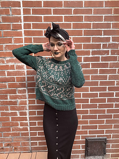 House Pride Sweater- Slytherin- Dk