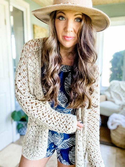 Lacy Spring Cardigan