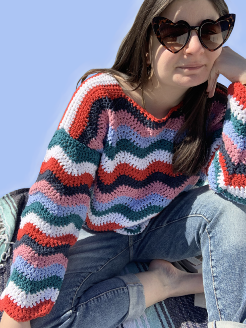 Rainbow Paradise Sweater