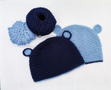 Child's hat with ears