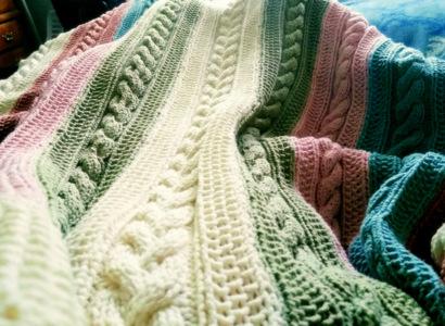 Brown Street Sunday Blanket