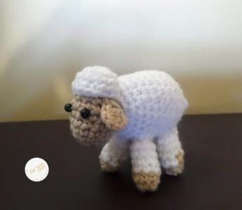 Mini Sheep: Amigurumi Pattern.