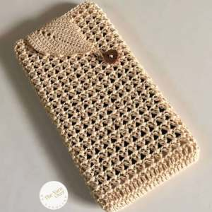 Lacy-Leafy Phone Cozy