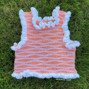 Coral Reef Ruffle Vest