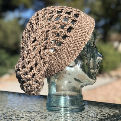 Netted Mesh Hat