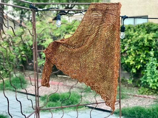 Changing Leaves Shawl