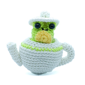 Earl Green the Teapot Frog Pattern