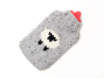 Sheep Hot Water Bottle Cover