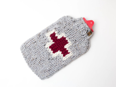 First Aid Hot Water Bottle Cover