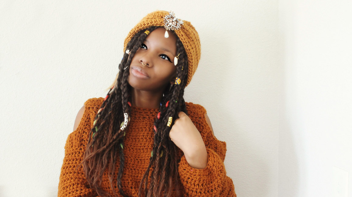 The Jeweled Crochet Headband