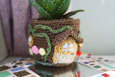 design your own fairy house plant holder