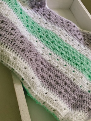 The Pretty Picot Baby Blanket