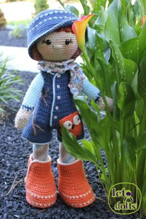 Maya Large Crochet Doll