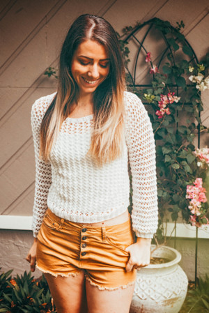 Easy Lightweight Sweater Knit Top