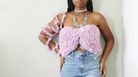 The Furry Bowdeau Crochet Top