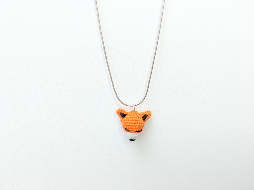Mini Fox Charm (Earrings or Pendant)