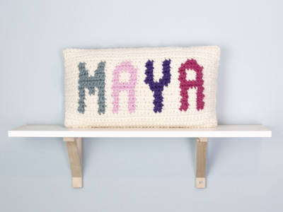 Personalized Name Pillow