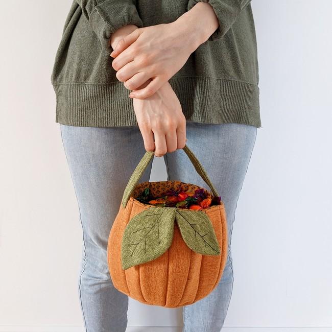 Pumpkin Candy Bucket