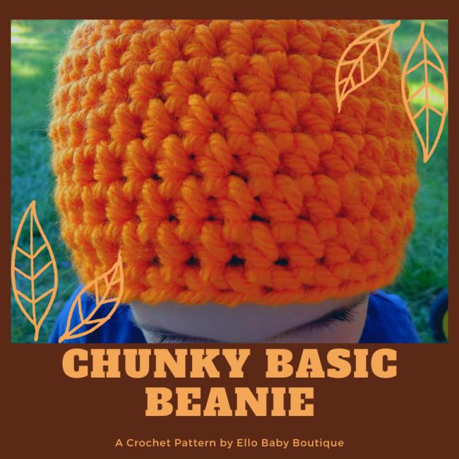 Chunky Basic Beanie