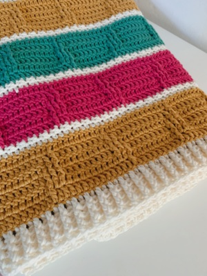 The Bejeweled Boxes Blanket