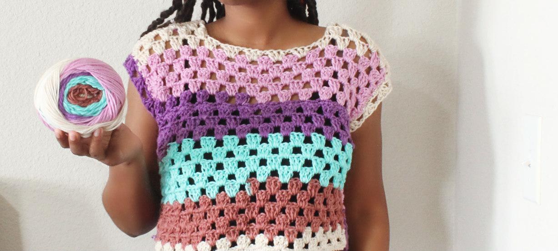 The Vela Crochet Top