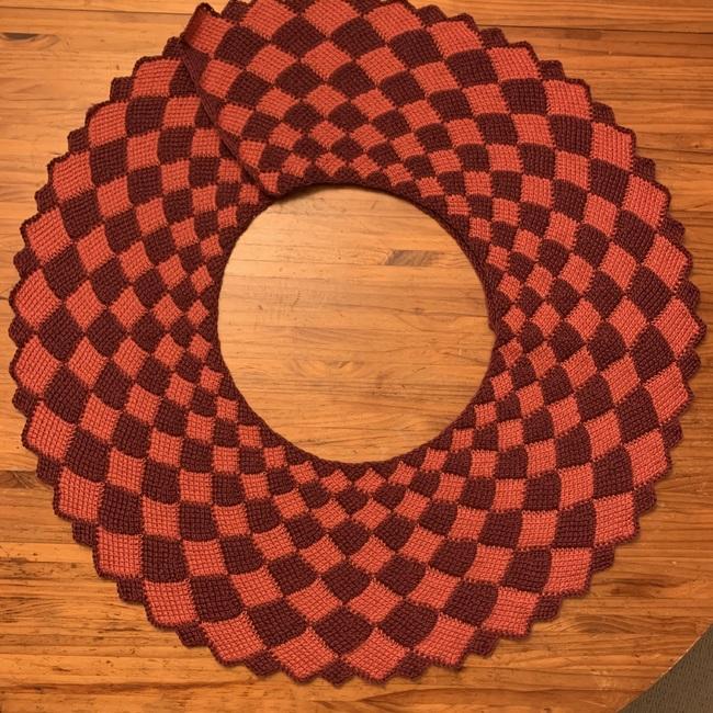 Tessellated Shawl