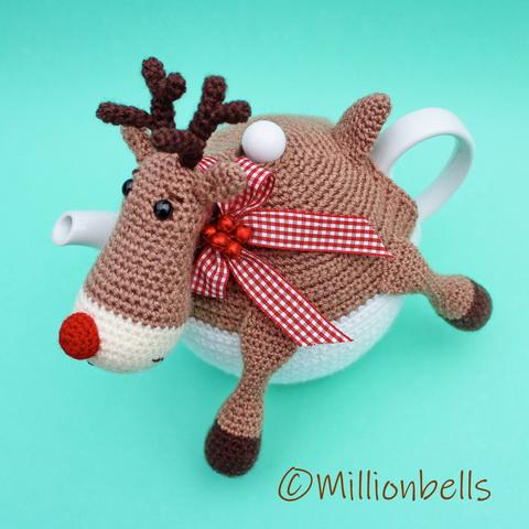 Tea Cosy Reindeer Christmas
