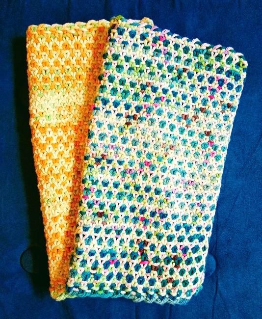 Linen Stitch Washcloths