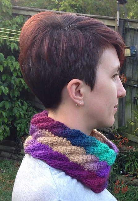 Spiral Cable Cowl
