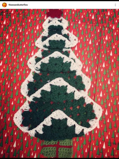 Grandma's Vintage Christmas Tree