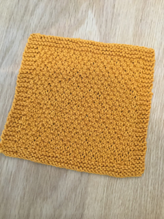 Alternating Dots Dishcloth