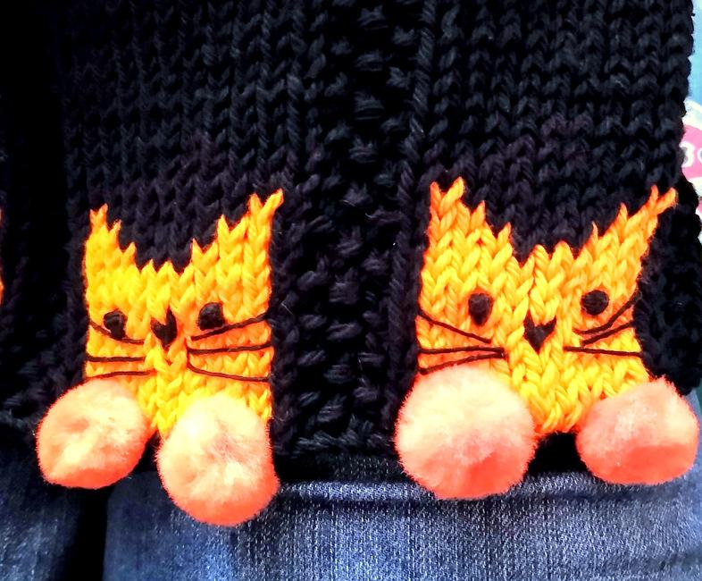 Kitty Paws Hand Towel