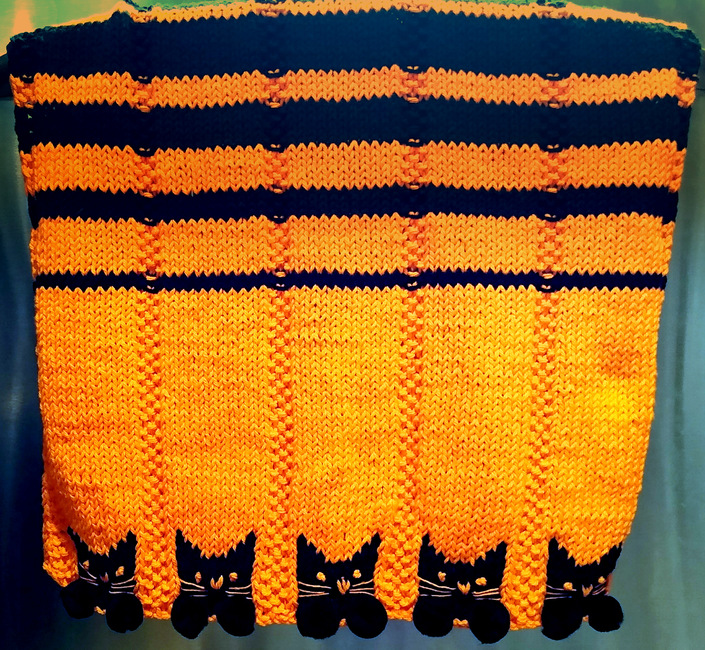 Kitty Paws Hand Towel